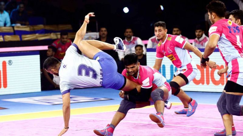 Jaipur Pink Panthers finished at the seventh place on the points table