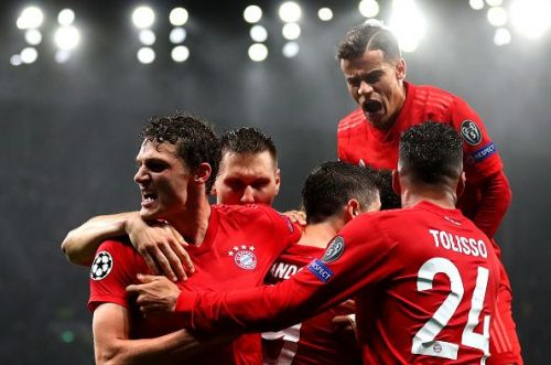 Tottenham Hotspur were obliterated by Bayern Munich at the Tottenham Stadium