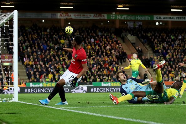 Anthony Martial scoring United