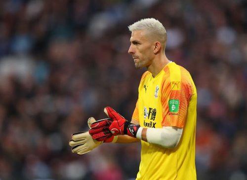 Crystal Palace's Vicente Guaita has three cleansheets this season.
