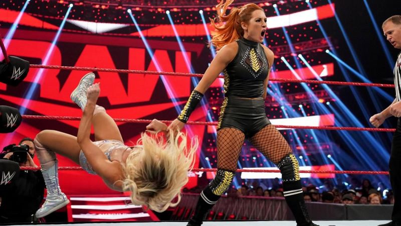 Becky Lynch managed to pick up another huge victory on RAW this week