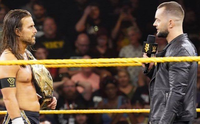 Finn Balor is back on the black-and-gold brand