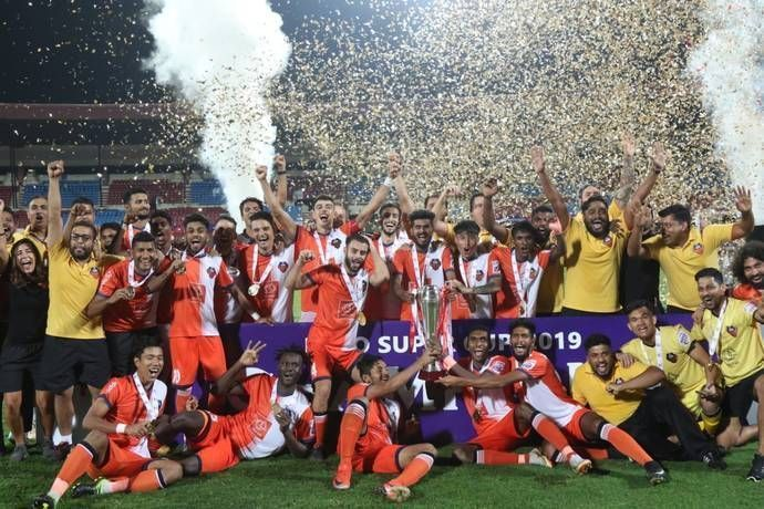 FC Goa won the Super Cup last season after losing in the ISL final
