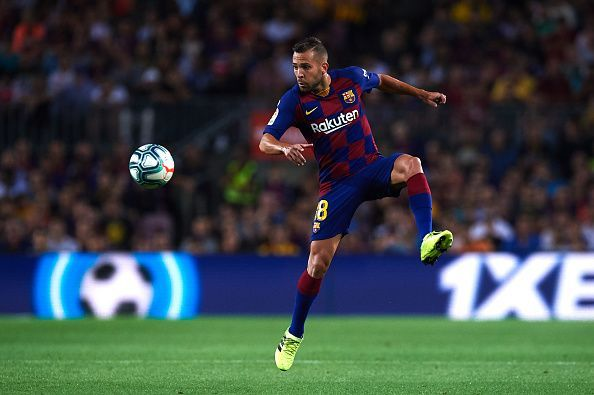 Jordi Alba is fit and available to face Sevilla