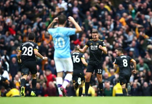Wolves hand Manchester City the second defeat of the season - just 8 games into the campaign