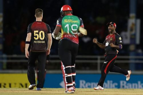 Trinbago Knight Riders v St Kitts Nevis Patriots - 2019 Hero Caribbean Premier League (CPL)