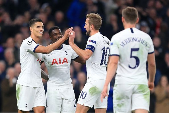 Tottenham put 5 goals past Red Star Belgrade tonight to kickstart their Champions League campaign