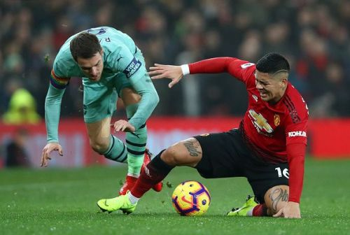 Marcos Rojo doesn't look like he has a future at Old Trafford.