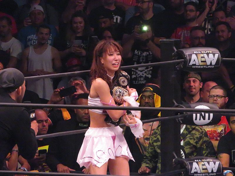 Riho and Britt Baker were one of the low points of the night