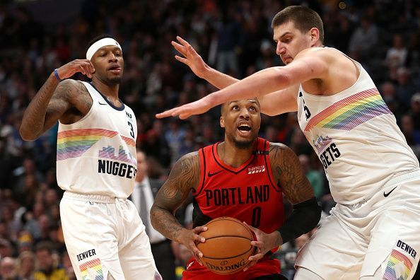 Damian Lillard and Co. will take on the Denver Nuggets in their season opener