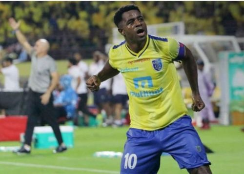 Bartholomew Ogbeche's brace turned out to be the difference as Kerala Blasters clinched the tie 2-1
