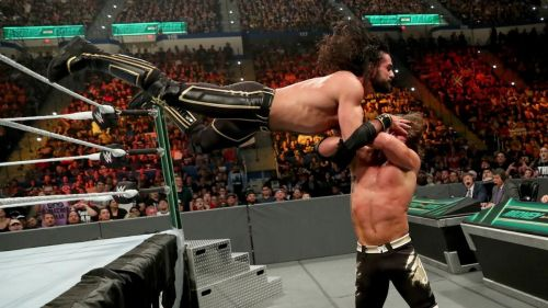Seth Rollins might have come up against a different challenger, instead of The Fiend, for Hell in a Cell.