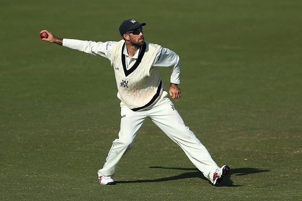 Sheffield Shield - VIC v SA: Day 2