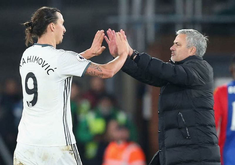 Ibrahimovic spent two and a half seasons under Jose Mourinho