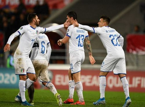 Italy have won nine matches in a row