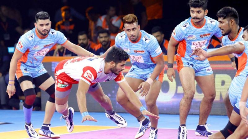 Baldev Singh played at the right corner position for Bengal Warriors