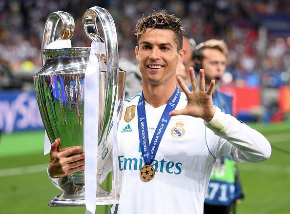 Ronaldo inspired Real Madrid to a third consecutive Champions League trophy