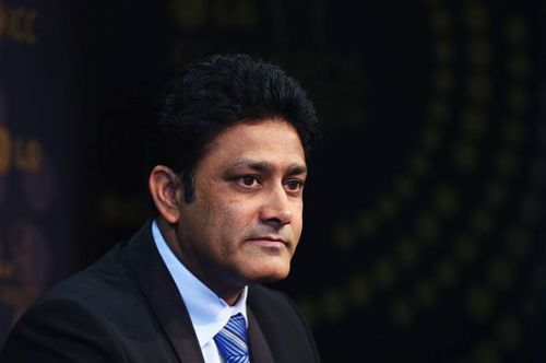 Anil Kumble was once the coach of the Indian team