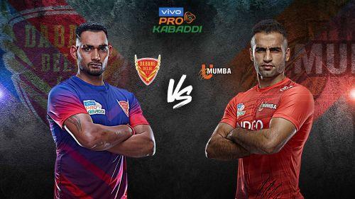 Dabang Delhi K.C. look to make it 2-0 against U Mumba this season with a win.