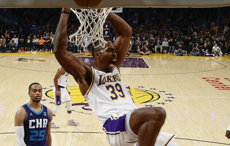 Dwight Howard put in vintage performance against his former team, the Charlotte Hornets
