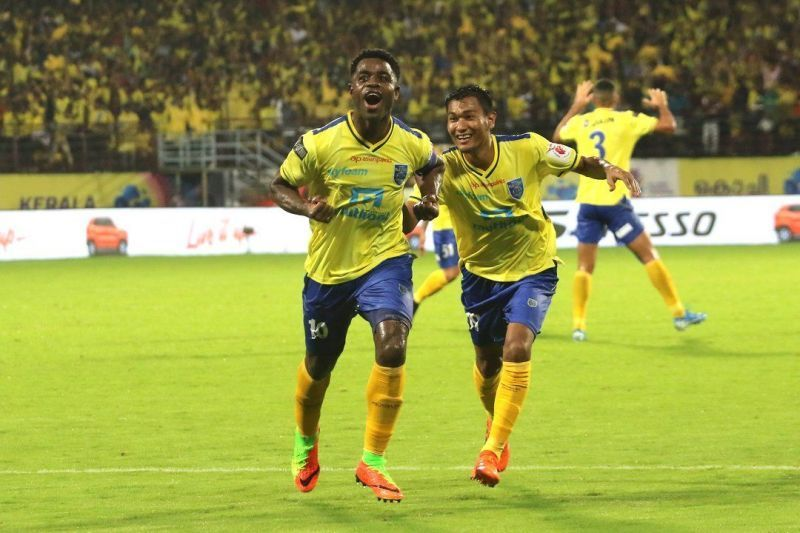 Bartholomew Ogbeche scored a brace to lead the Blasters to a win in their first game of the season against ATK