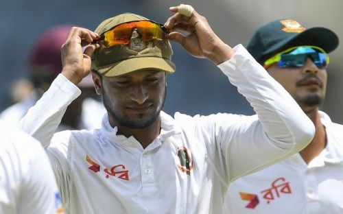 Shakin Al Hasan took over the captaincy realms from Mortaza in tests and T20s.