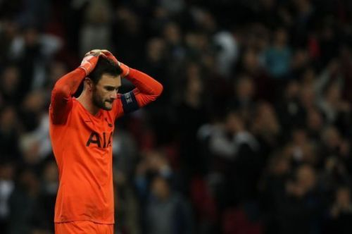 Hugo Lloris conceded seven goals against Bayern Munich in the UEFA Champions League.