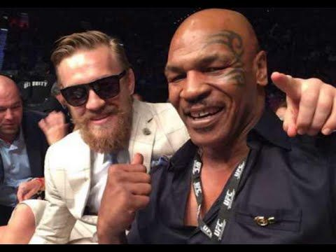 Conor McGregor and Mike Tyson