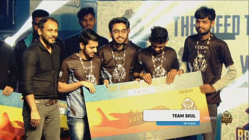 Team Skul bagged the first position at PMIT 2019 Group D Finals
