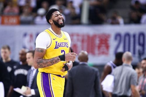 Anthony Davis could miss the start of the season after suffering a thumb injury