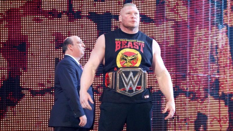 Will Brock Lesnar walk out as WWE Champion?