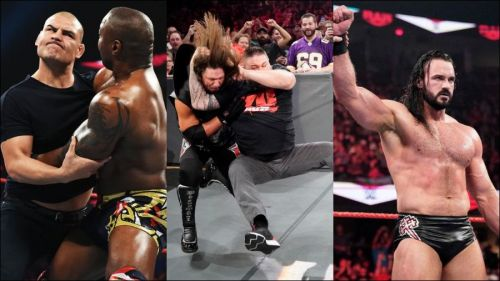 Superstars on RAW made some huge statements this week