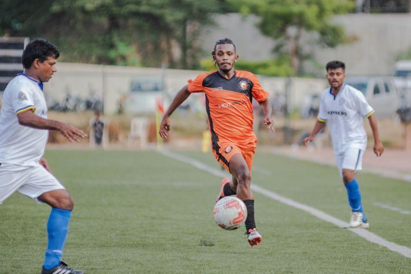 South United FC captain Aaron D