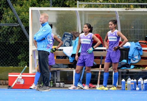 The coach opines that his team is learning how to handle the pressure