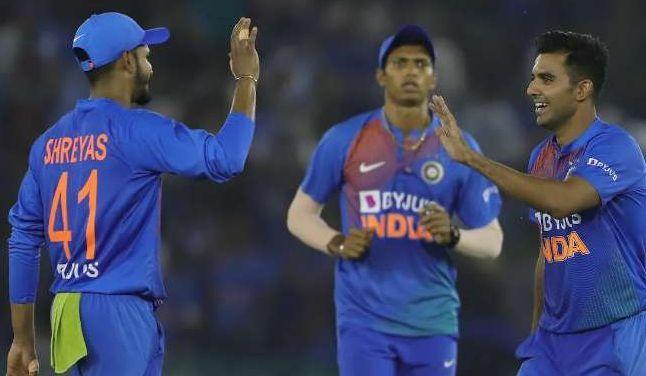 भारतीय टीम के कुछ खिलाड़ी