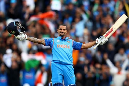Shikhar Dhawan helped Delhi seal their place in the quarterfinals.