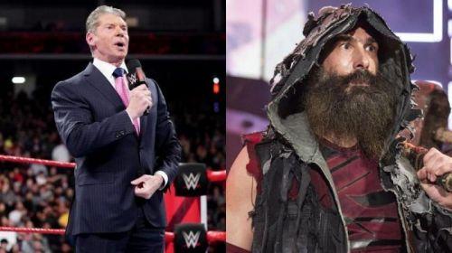 Vince McMahon and Luke Harper