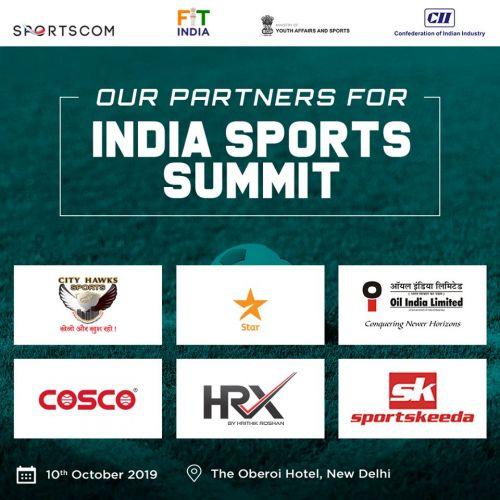 India Sports Summit 2019 : Oberoi Hotel, New Delhi
