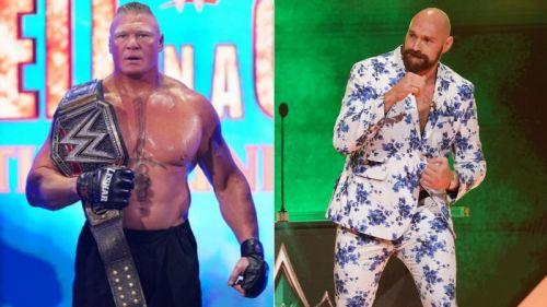 Brock Lesnar and Tyson Fury have big matches at Crown Jewel