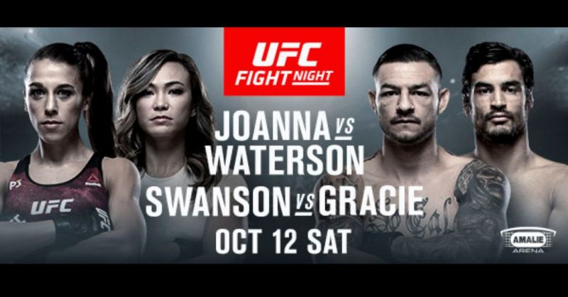 Watch UFC Fight Night 161 Joanna Vs Waterson 10/12/19