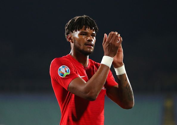Tyrone Mings brought the initial incidents to the referee
