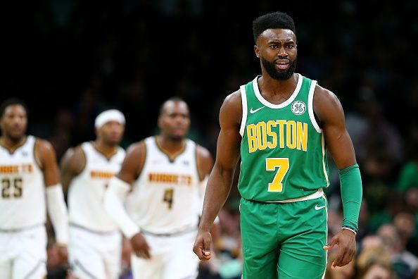 Jaylen Brown is on course to become a restricted free agent next summer