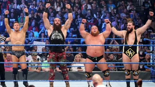 Braun Strowman on SmackDown following his team's victory