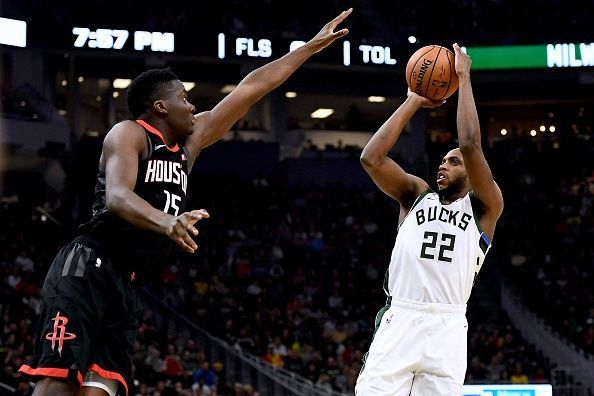 The Houston Rockets get their season underway against the Bucks