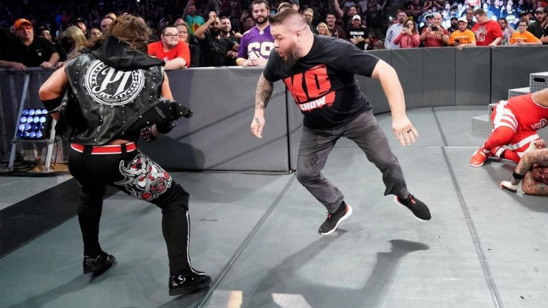 Kevin Owens evened up the numbers in the main event