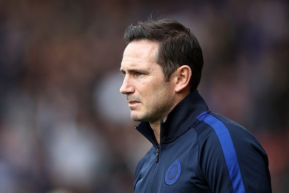 Frank Lampard handed Callum Hudson-Odoi his first league start of the season
