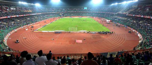 'Marina Arena', two-time ISL Champions Chennaiyin FC's home ground (Credits: ISL)