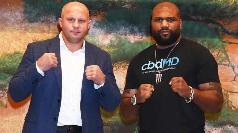 Fedor and Rampage will square off in Japan