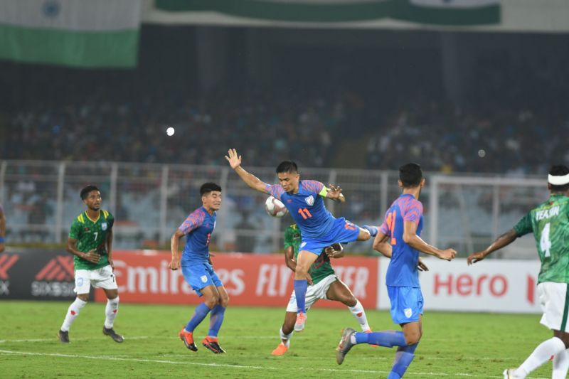 Indian players were slow to react to things and wayward with their passing.