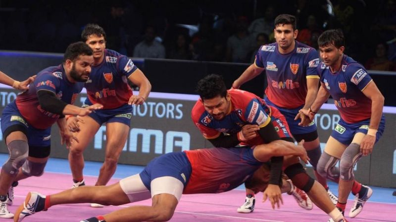 Dabang Delhi K.C had lost to UP Yoddha in the eliminator last year